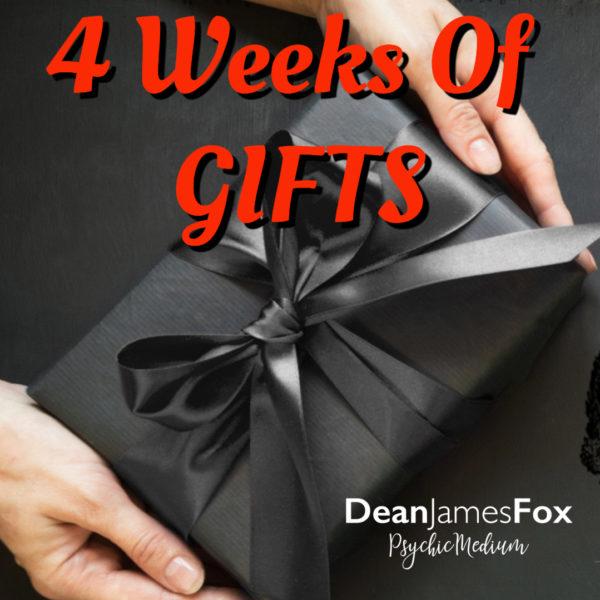 4 weeks of gifts